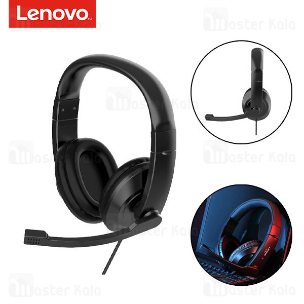هدفون سیمیی گیمینگ لنوو Lenovo P775 Stereo Gaming Headphone دارای میکروفون