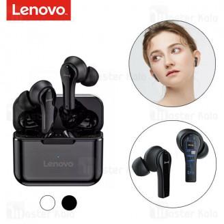 هندزفری بلوتوث دوگوش لنوو Lenovo QT82 TWS Bluetooth Earphone