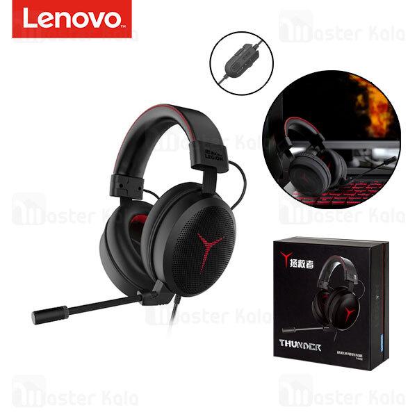 هدفون سیمی گیمینگ Lenovo Y480 Savior Thunder Play Stereo Gaming Headset