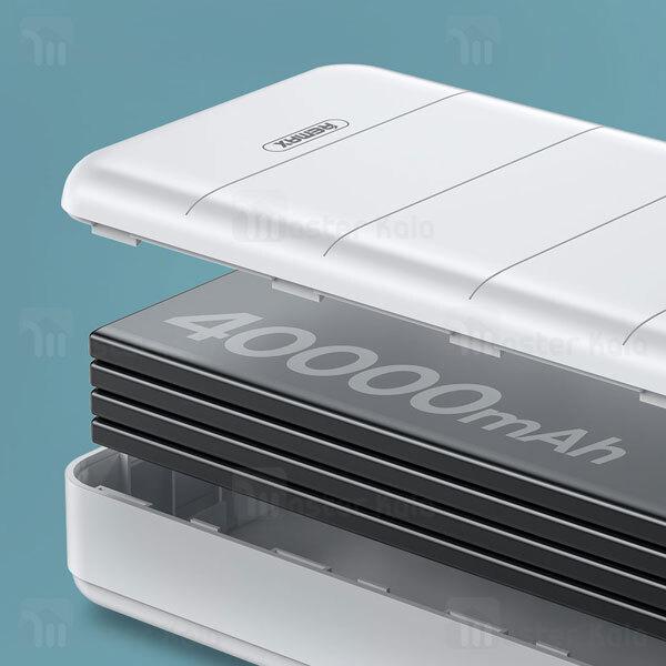 پاوربانک 40000 ریمکس Remax RPP-184 Leader Series Fast Charging Power bank توان 2.1 آمپر