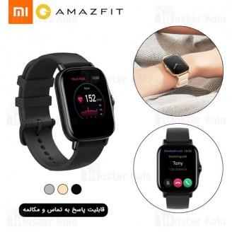 ساعت هوشمند شیائومی Xiaomi AmazFit GTS 2 Smart Watch نسخه گلوبال با قابلیت پاسخ به تماس ها