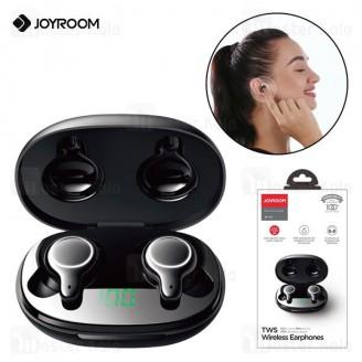 هندزفری بلوتوث دوگوش جویروم Joyroom JR-T12 TWS HiFi Bluetooth Earphones