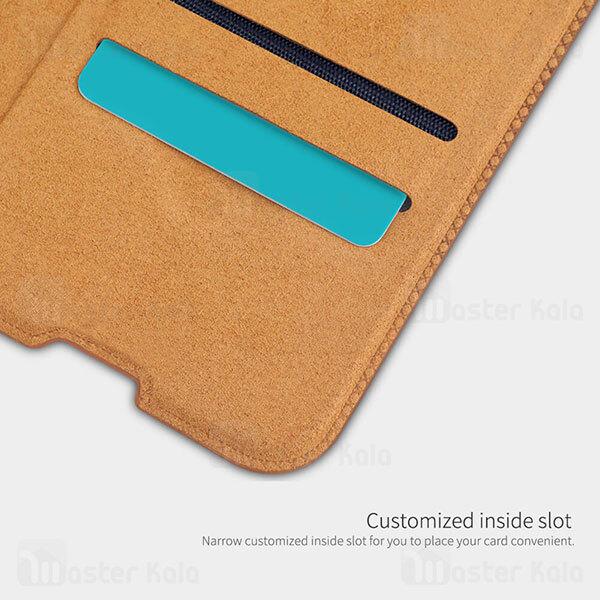کیف چرمی نیلکین شیائومی Xiaomi Mi 10T / 10T Pro / K30S Nillkin Qin Leather Case