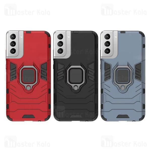 گارد ضد ضربه انگشتی سامسونگ Samsung Galaxy S21 Plus Keysion Shockproof Armor Ring
