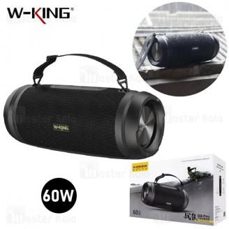 اسپیکر بلوتوث دبلیو کینگ W-King D3 Pro Wireless Speaker توان 60 وات رم و فلش خور