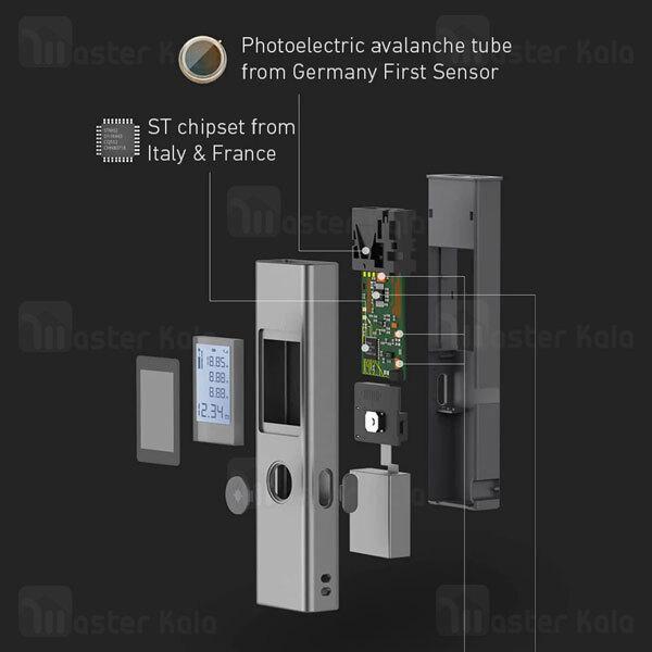 متر لیزری شیائومی Xiaomi Youpin LS-1 Laser Range Finder 40m