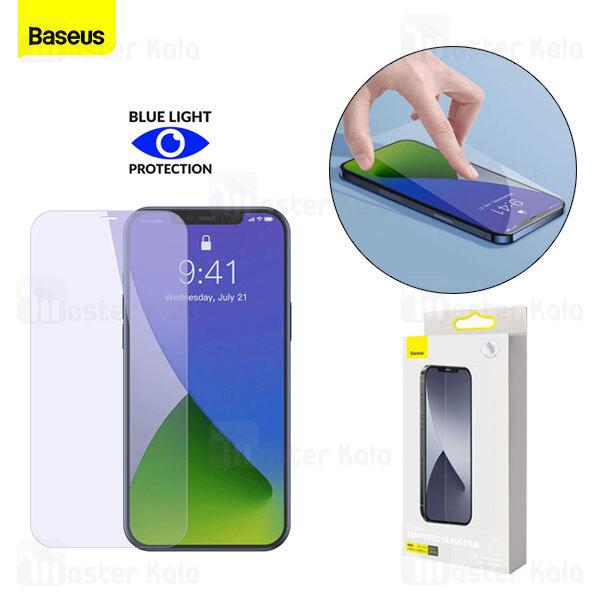 پک 2تایی محافظ صفحه شیشه ای تمام صفحه و ضد اشعه بیسوس iPhone 12 / 12 Pro Baseus SGAPIPH61P-LF02