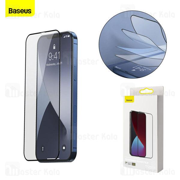 پک 2تایی محافظ صفحه شیشه ای تمام صفحه بیسوس آیفون Apple iPhone 12 Mini Baseus SGAPIPH54N-KC01
