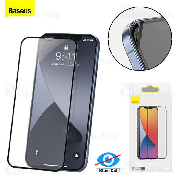 پک 2تایی محافظ صفحه شیشه ای تمام صفحه بیسوس آیفون Apple iPhone 12 Pro Max Baseus SGAPIPH67N-PE01