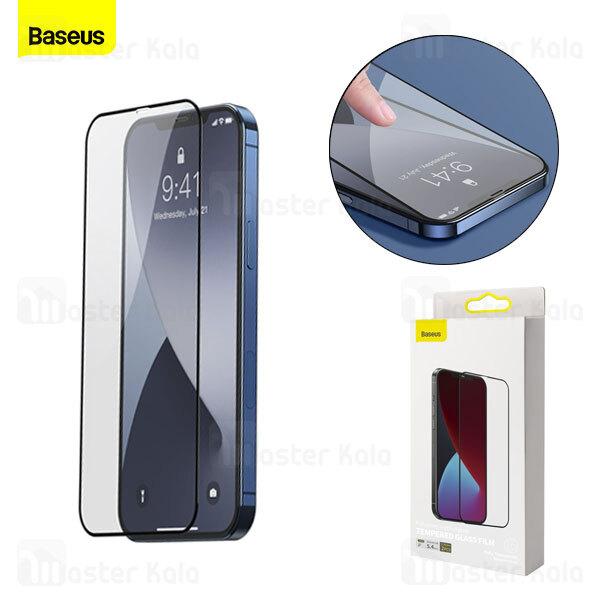 پک 2تایی محافظ صفحه شیشه ای تمام صفحه بیسوس آیفون Apple iPhone 12 Pro Max Baseus SGAPIPH67N-KC01