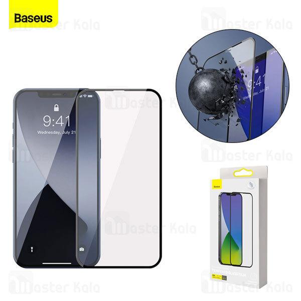 پک 2تایی محافظ صفحه شیشه ای تمام صفحه بیسوس آیفون Apple iPhone 12 Pro Max Baseus SGAPIPH67N-KA01