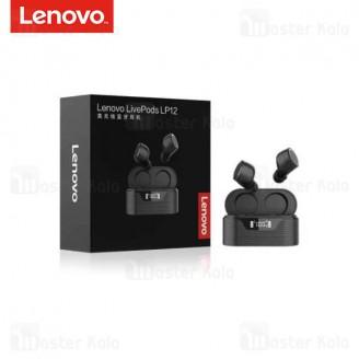 هندزفری بلوتوث دوگوش لنوو Lenovo LivePods LP12 Wireless Earphone
