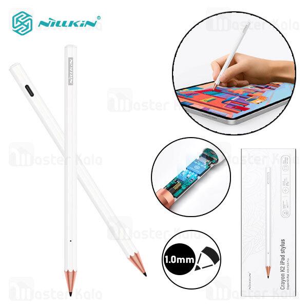 قلم لمسی نیلکین Nillkin Crayon K2 iPad Stylus مناسب آیپد