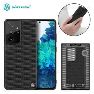 قاب فیبر نیلکین سامسونگ Samsung Galaxy S21 Ultra Nillkin Textured Nylon Fiber Case