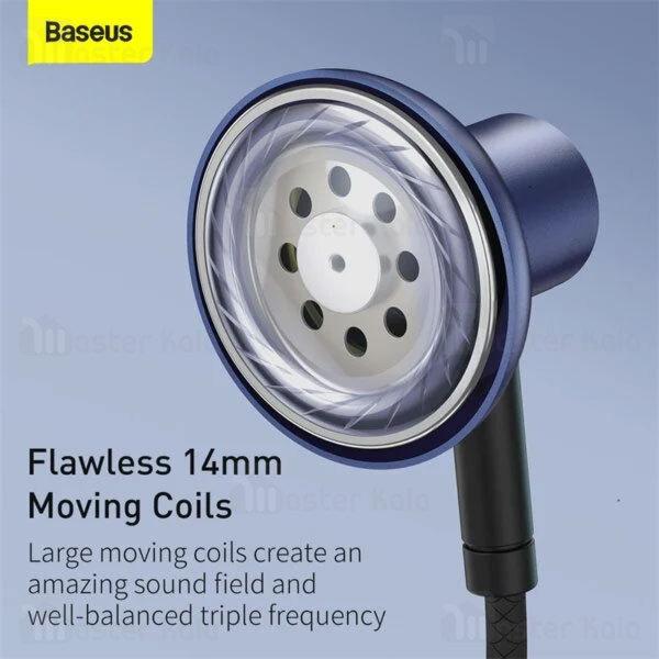 هندزفری سیمی بیسوس Baseus H19 Encok 3.5mm Wired Earphone NGH19-01
