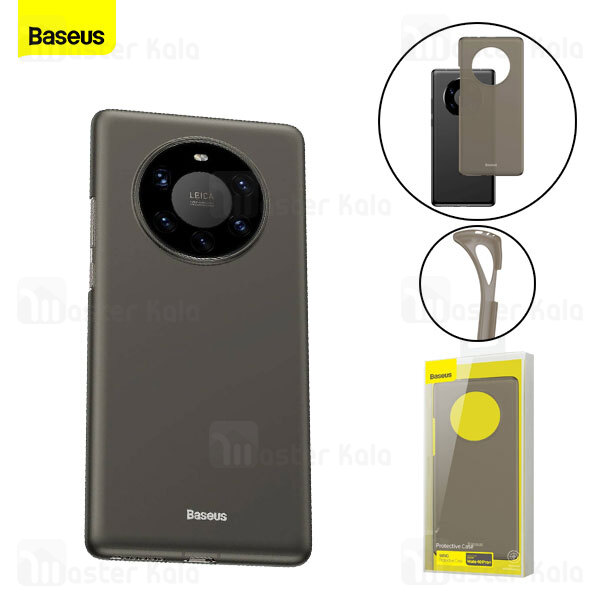 قاب ژله ای مات بیسوس هواوی Huawei Mate 40 Pro Plus Baseus Wing WIHWMATE40R-01 Case