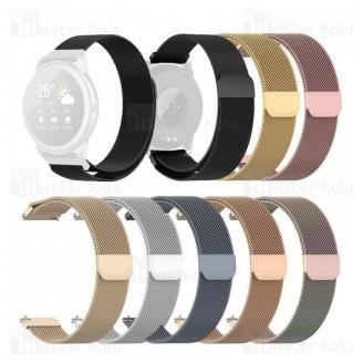 بند فلزی ساعت هوشمند شیائومی Xiaomi Haylou Solar LS05 / RT LS05s Stainless Steel Milanese Strap