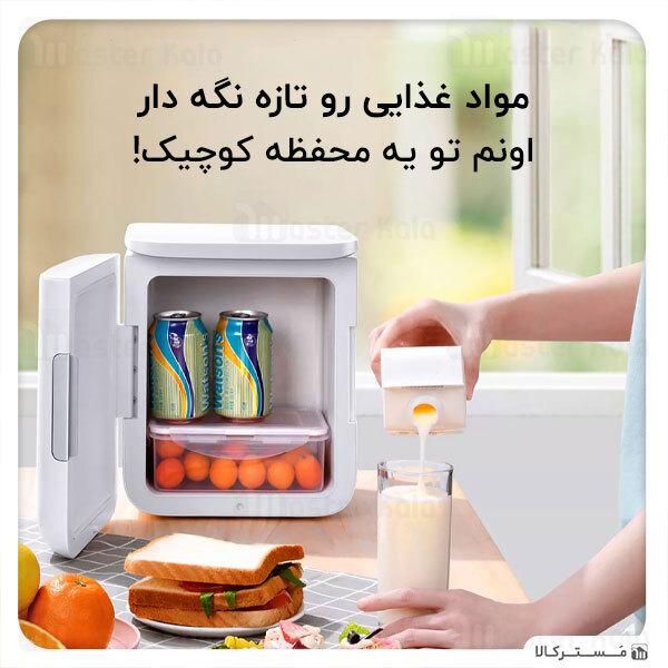 مینی یخچال و گرم کن بیسوس Baseus Igloo Mini Fridge for Students ACXBW-A02 با ظرفیت 6 لیتر
