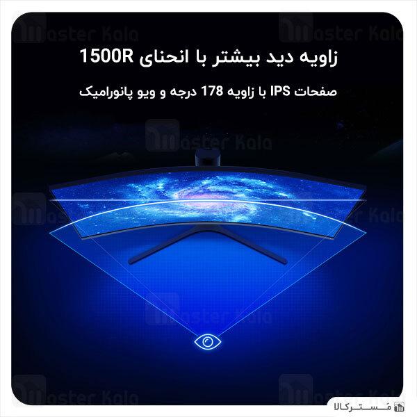 مانیتور گیمینگ 34 اینچ شیائومی Xiaomi Mi Curved Gaming Monitor 34 inch XMMNTWQ34 گارانتی 12 ماهه