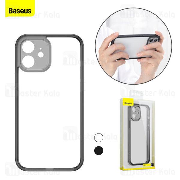 بامپر بیسوس آیفون Apple iPhone 12 Baseus Camera Lens Protector Frame Case FRAPIPH61N-01