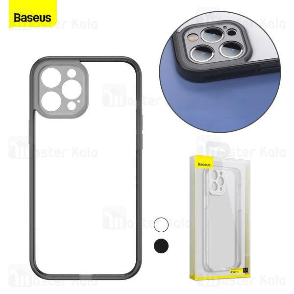 بامپر بیسوس آیفون Apple iPhone 12 Pro Baseus Camera Lens Protector Frame Case FRAPIPH61P-01