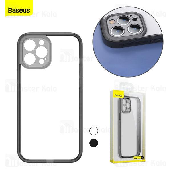 بامپر بیسوس آیفون Apple iPhone 12 Pro Max Baseus Camera Lens Protector Frame Case FRAPIPH67N-01