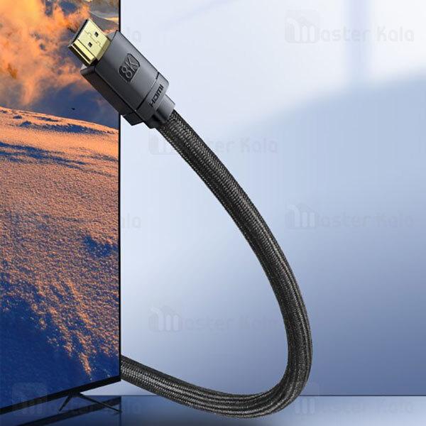 کابل HDMI بیسوس Baseus High Definition Series 8K HDMI 2.1 Cable CAKGQ-L01 طول 3 متر