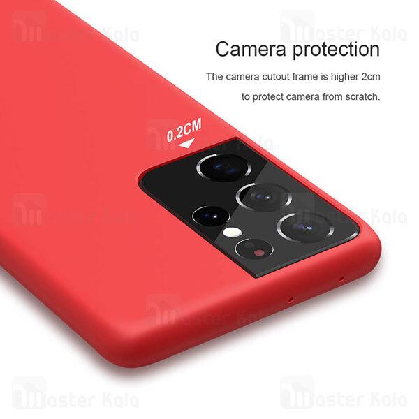 قاب سیلیکونی نیلکین سامسونگ Samsung Galaxy S21 Ultra Nillkin Flex PURE Case
