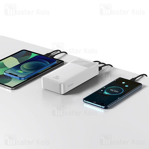 پاوربانک 30000 بیسوس Baseus Bipow Digital Display PPBD30K PPDML-N01 توان 20 وات