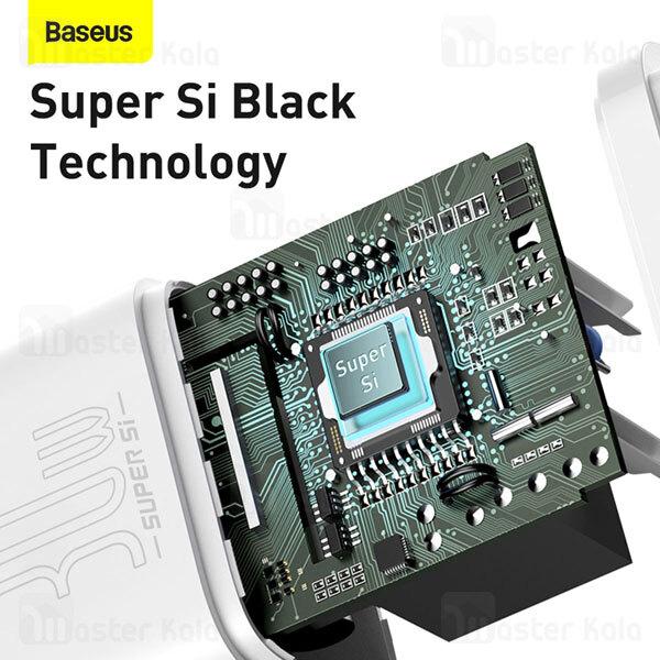 شارژر دیواری فست شارژ بیسوس Baseus Super Si 1C 30W CCCJG30CE CCSUP-J01 EU توان 30 وات