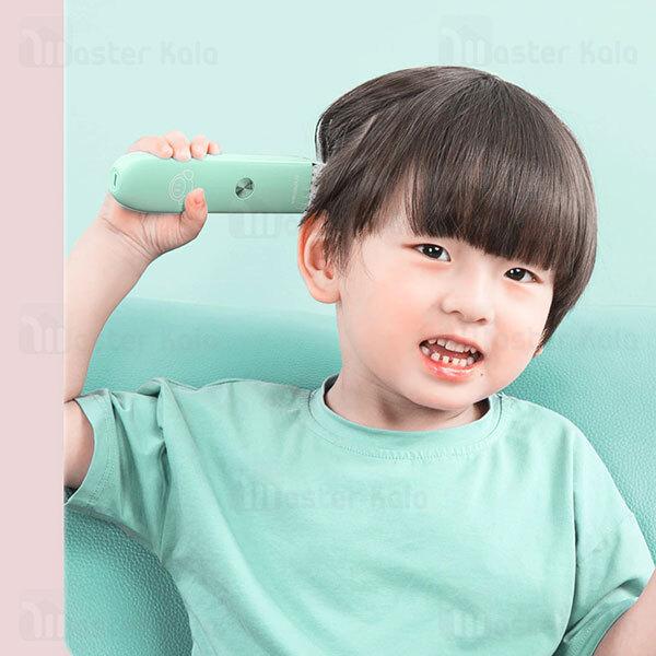 ماشین اصلاح موی سر شیائومی Xiaomi Enchen YOYO Baby Silent Smart Anti Card Hair Trimmer مخصوص کودکان