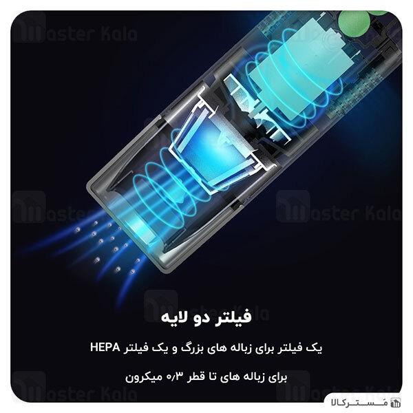 جارو شارژی ماشین شیائومی Xiaomi 70Mai Midrive PV01 Car Vacuum Cleaner 80W 5000Pa توان 80 وات