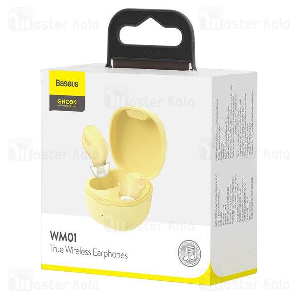 هندزفری بلوتوث دوگوش بیسوس Baseus WM01 Encok True Wireless Earphones NGWM01-01
