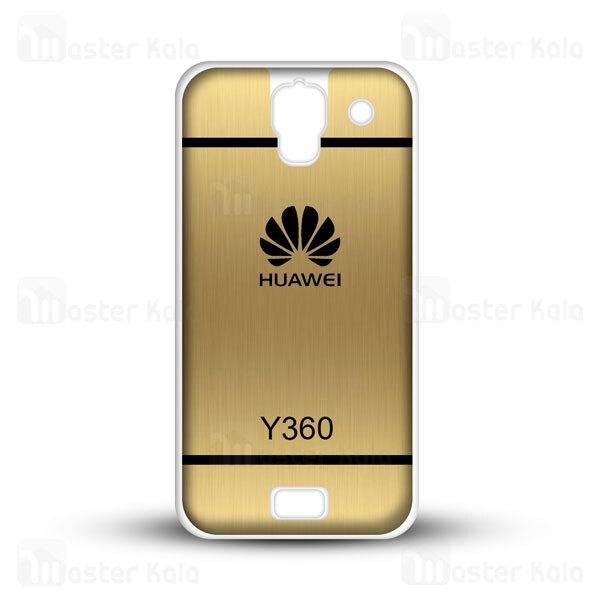 قاب ژله ای هواوی هانر Huawei Ascend Y360 Brush Metal Jelly Case
