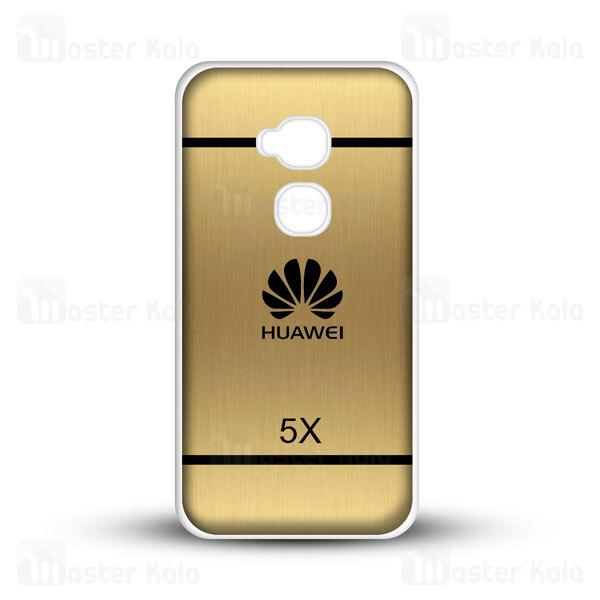 قاب ژله ای هواوی هانر Huawei Honor 5X Brush Metal Jelly Case