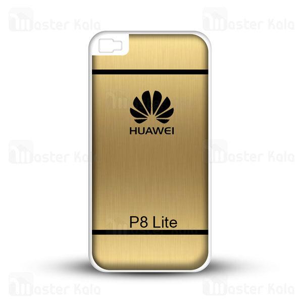 قاب ژله ای هواوی Huawei P8 Lite Brush Metal Jelly Case