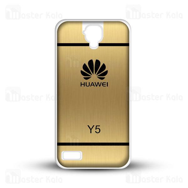 قاب ژله ای هواوی هانر Huawei Y560 / Y5 2015 Brush Metal Jelly Case