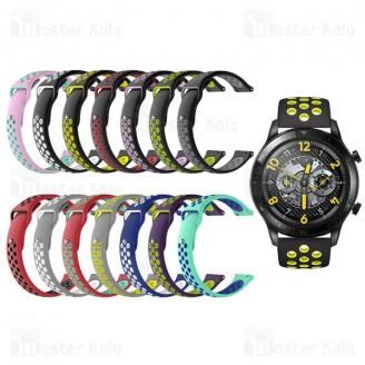 بند سیلیکونی طرح نایکی ساعت هوشمند ریلمی Realme Watch S / Watch S Pro Strap Silicone Band