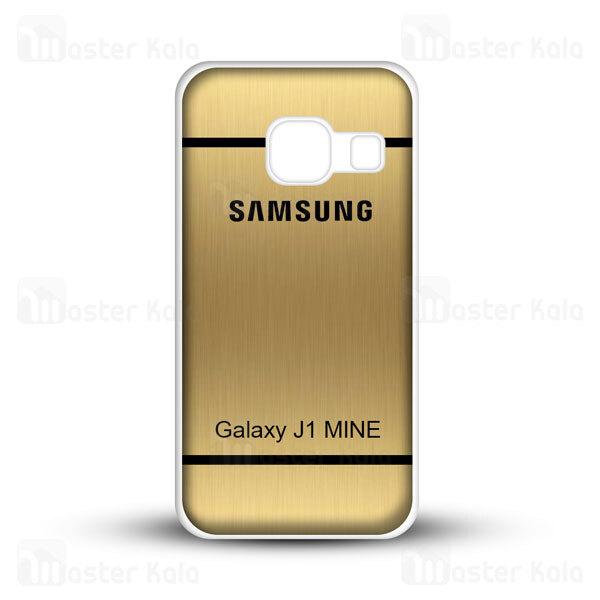 قاب ژله ای سامسونگ Samsung Galaxy J1 Mini Brush Metal Jelly Case