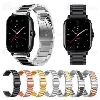 بند فلزی ساعت هوشمند شیائومی Xiaomi Amazfit GTS / GTS 2 / GTS 2e Wrist Metal Strap