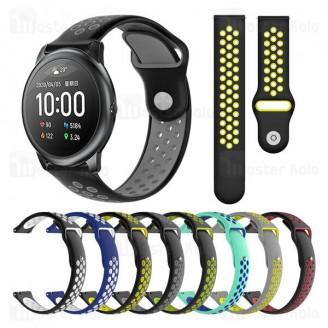 بند سیلیکونی طرح نایکی ساعت هوشمند Xiaomi Haylou Solar LS05 / RT LS05S Strap Silicone Band