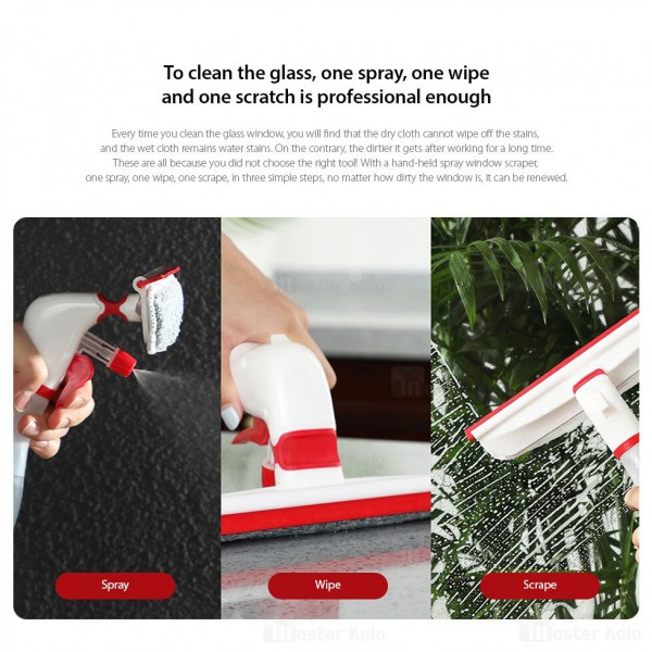 آب پاش و شیشه پاک کن شیائومی Xiaomi Yijie Handheld Spray Window Wiper YB-08