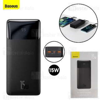 پاوربانک 30000 بیسوس Baseus Bipow Digital Display PPBD30 PPDML-K01 توان 15 وات
