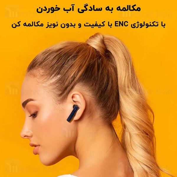 هندزفری بلوتوث دوگوش کیو سی وای QCY T12S ENC True Wireless Earbuds