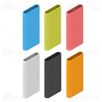 کاور محافظ سیلیکونی پاوربانک 10000 شیائومی Xiaomi Mi Power Bank 3 18W PLM13ZM Silicon Cover