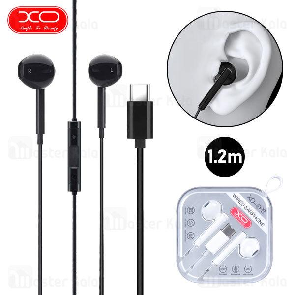 هندزفری سیمی ایکس او XO EP8 Music Stereo Wired Type-C Earphone با کانکتور Type C