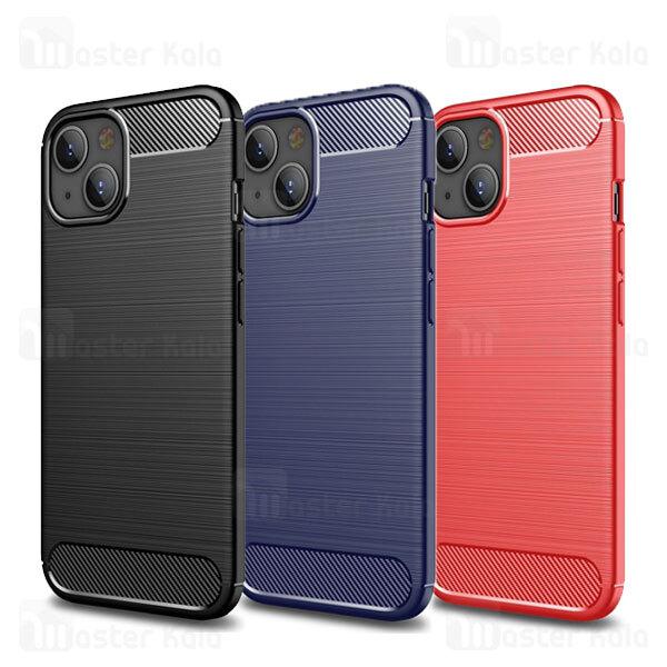 قاب محافظ ژله ای آیفون Apple iPhone 13 Rugged Armor Fiber Carbon