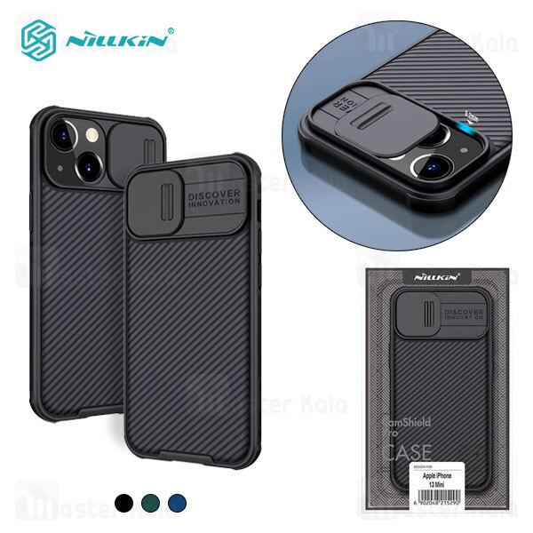 قاب محافظ نیلکین آیفون Apple iPhone 13 Mini Nillkin CamShield Pro Case دارای محافظ دوربین