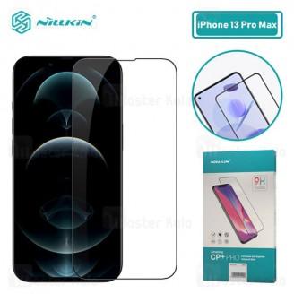 محافظ صفحه نمایش شیشه ای تمام صفحه تمام چسب آیفون Apple iPhone 13 Pro Max Nillkin CP+ Pro