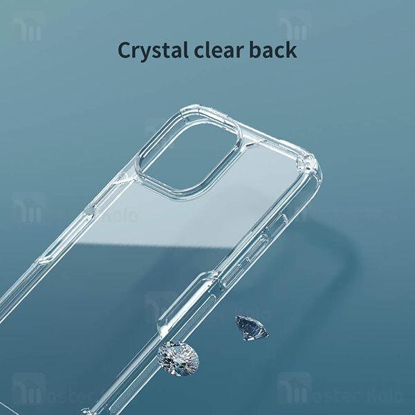 قاب محافظ نیلکین آیفون Apple iPhone 13 Pro Max Nillkin Nature TPU Pro Case